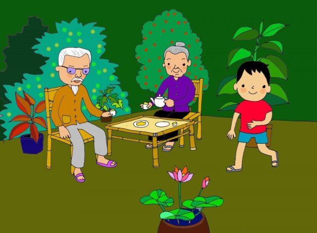 Bài thơ Về quê Nguyễn Lãm Thắng - Khơi dậy tình yêu quê trong bé