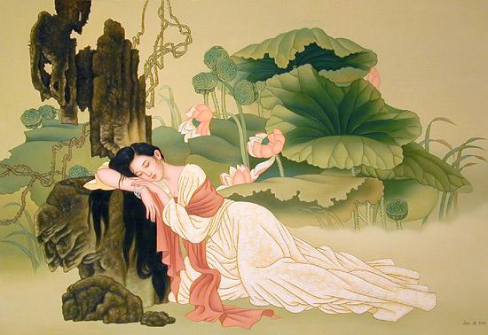 Bài thơ Tự tình (Hồ Xuân Hương) - Bất hạnh của mộng ước không thành
