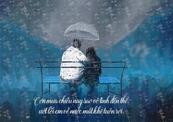 101 stt hay về mưa và nỗi nhớ mang tâm trạng buồn cô đơn trên facebook