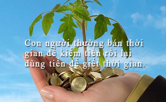 Câu nói hay về tình và tiền mang nhiều triết lí sâu sắc-9
