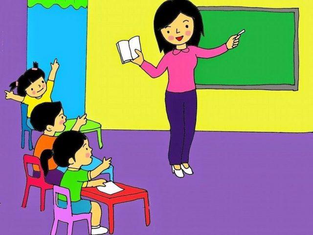 Bài thơ Em là cô giáo