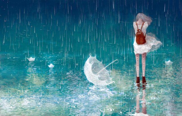 thơ vui về mưa