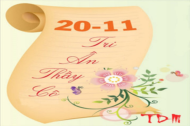 Tổng hợp những lời chúc thầy cô ngày nhà giáo 20/11 hay và ý nghĩa nhất