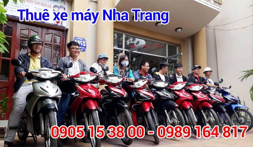 Địa chỉ thuê xe máy tại Nha Trang giá rẻ, uy tín, chất lượng